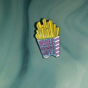 Jewelry - Fries before guys pin!!! Yas😻✨💖